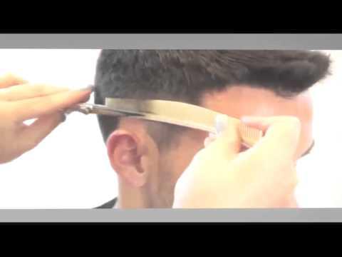 Tecnicas de corte de cabello con tijera